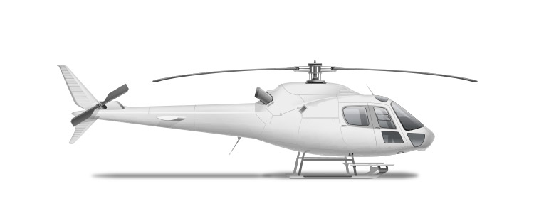 Icon of a helicopter