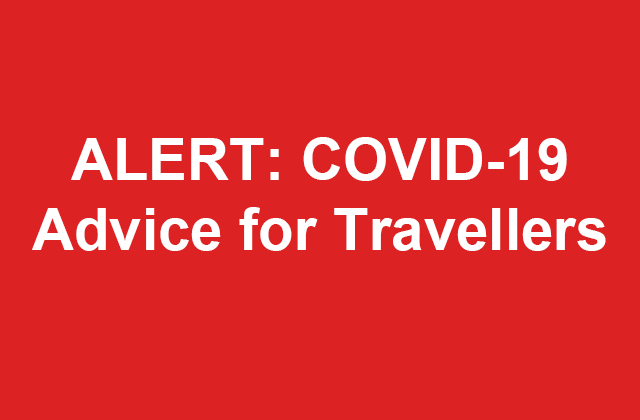 Latest information regarding COVID-19