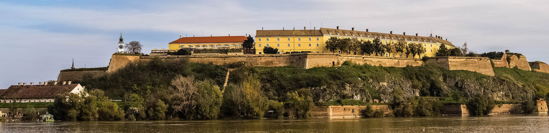 Petrovaradin Fortress in the City of Novi Sad, Serbia